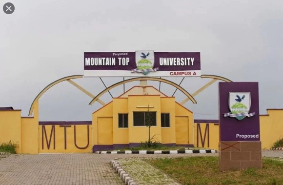 COURSES OFFERED IN MOUNTAIN TOP UNIVERSITY,MOUNTAIN TOP UNIVERSITY, mtu, www.mtu.edu.ng