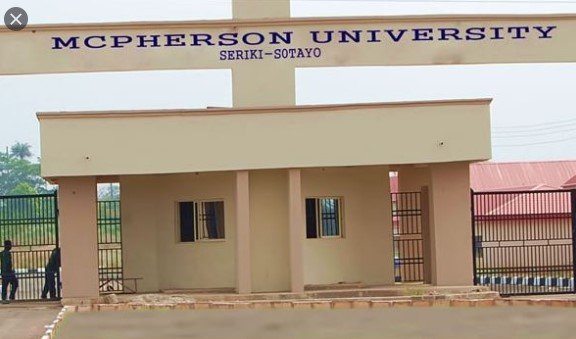 COURSES OFFERED IN McPHERSON UNIVERSITY,McPHERSON UNIVERSITY COURSES,McPHERSON UNIVERSITY, mcu, www.mcu.edu.ng