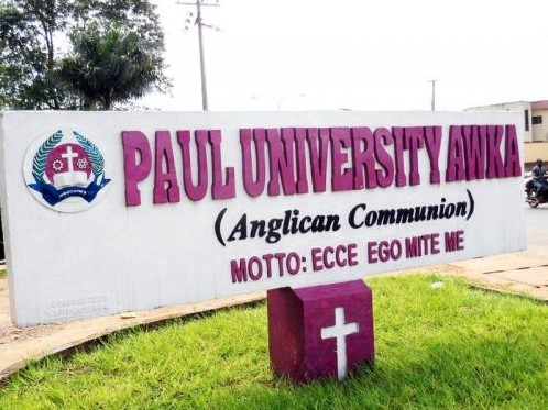 COURSES OFFERED IN PAUL UNIVERSITY,PAUL UNIVERSITY COURSES,PAUL UNIVERSITY, www.pauluniversity.edu.ng